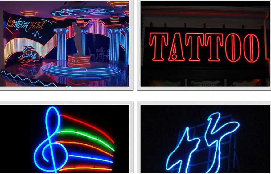 360 Round Led Neon Tube AC 220V 230V 240V SMD 2835 Flexible Neon Strip For Outdoor Decorative Lighting 1m 2m 5m 10m 20m 50m 100m
