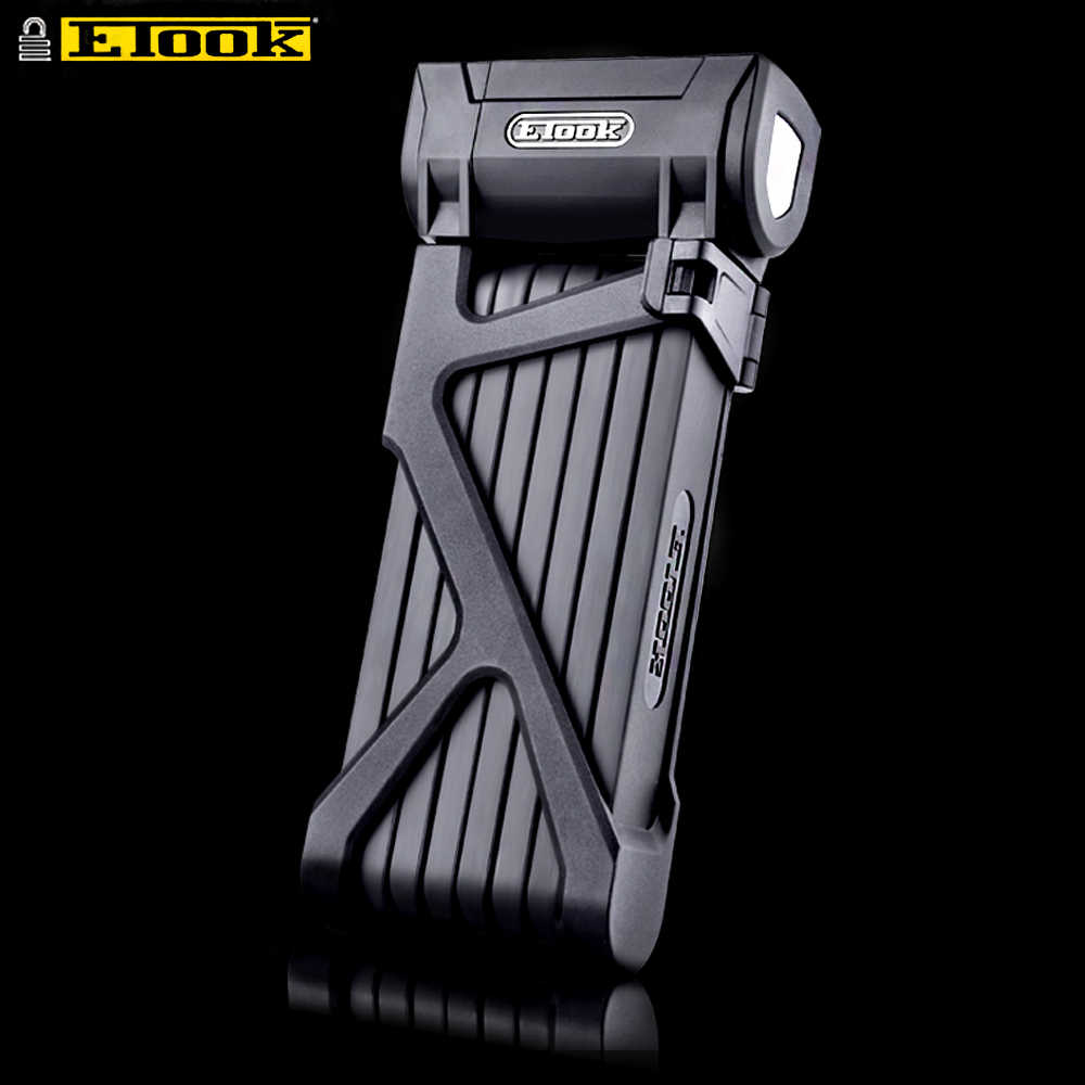 ETOOK Strong Folding Lock For Bicycle Bike Electric Motorcycle MTB