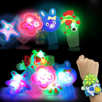 50 Pcs Light Flash Wrist Hand Take Luminous Toys Dance Party Dinner Party New Year Christmas Toys Gift for Children
