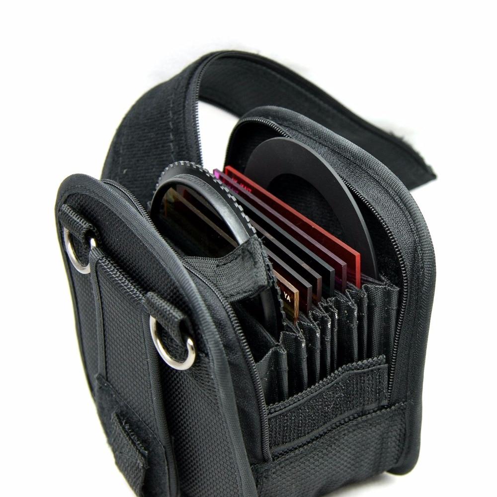 P306 Чехол-бумажник с фильтром, сумка с 7 слотами до 95 мм/с ремешком