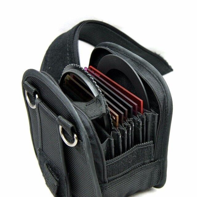 P306 Filtre Cüzdan bölmeli çanta 7 yuvaları kadar 95mm/kayış ile