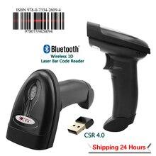 RADALL Ручной Bluetooth сканер штрих-кодов портативный беспроводной 1D лазерный считыватель штрих-кода Поддержка Android/iOS/Windows RD-1698LY