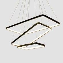 Современные подвесные светильники Кухня жизни столовая светильники светодиодный подвесной светильник светильников затемнения lluminaria лампе AC90-260V
