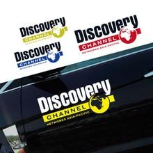 цены на Noizzy Discovery Channel 60cm Car Sticker Auto Decal Vinyl Reflective Door Wild Tuning for Jeep Wrangler Renegade SUV Cherokee  в интернет-магазинах