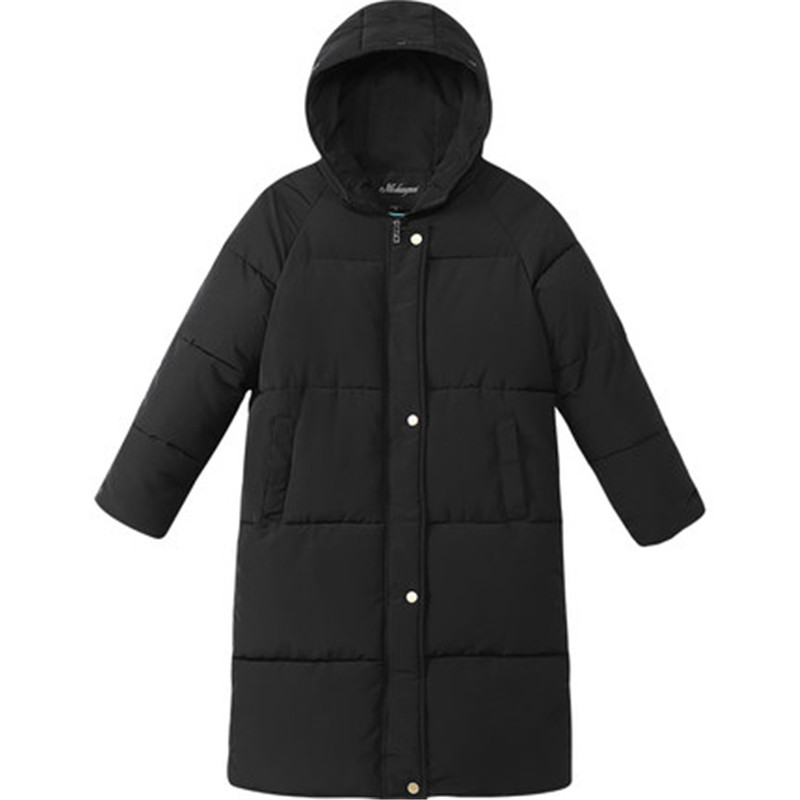 casual Thicken Down Cotton Coat Women's Winter Coat 2018 new Korean loose long   Parkas   Jacket black Outerwear X87