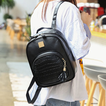 Backpack Women PU Leather School Bags For Teenager Girls Stone Sequined Backpack Preppy Style Small Backpacks Designer Rucksack
