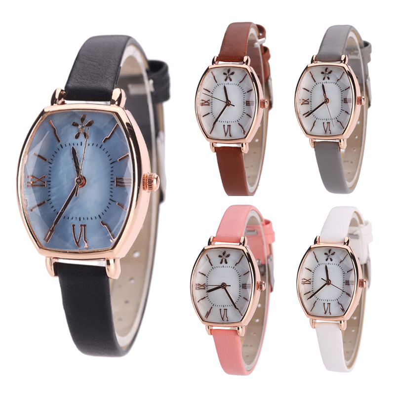 Women New Fashion Small Dial Quartz Watch Square Wristwatch for Ladies Personality Casual Girls Watches Female Horloge LZ2266 kingsky new fashion small women watches famous design quartz watch black pu leather strap wristwatch