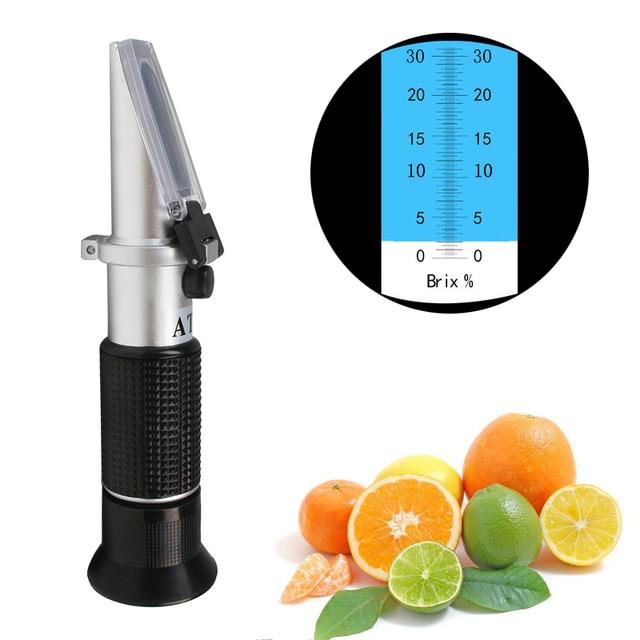 bf3e048e5 الإنكسار السكر درجة متر ، الحليب الشاي ، الفاكهة عصير مقياس الكثافة تركيز  قياس 0-