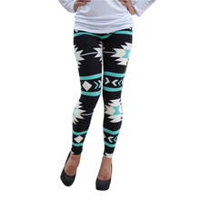New Women 2017 Tribal Aztec Printed Leggings 9 Colors Long Soft Size S-XL Hot LL2