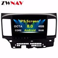 Android 8.0 Car GPS Player for Mitsubishi Lancer 10 EVO with 4G+32G Octa Core Auto radio Stereo Navi Radio Multimedia head unit