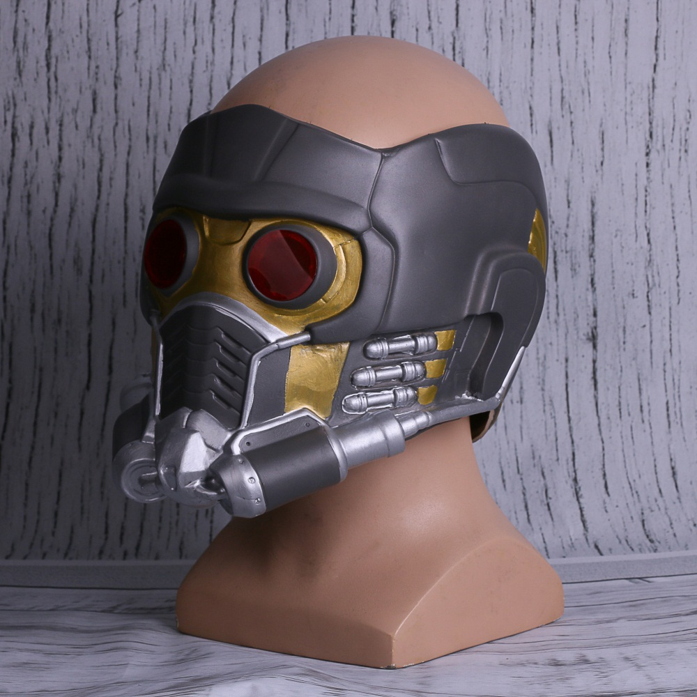 Cosplay Star-Lord Helmet 2018 Avengers 3 Infinity War Superhero Peter Quill Mask (7)