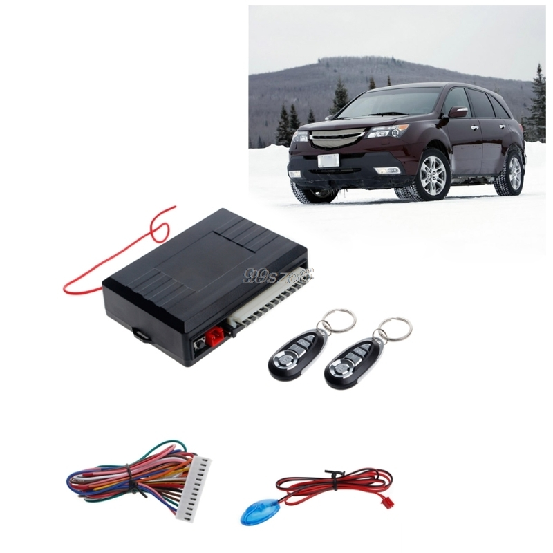 Universal Car Alarm Systems Auto Remote Central Kit Door Lock Vehicle Keyless Entry System Central Locking With Remote Control S