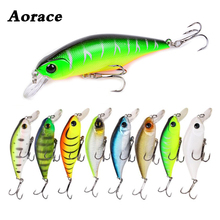 1Pcs Minnow 90mm 11g Fish Smart Lure Wobblers Fresh Saltwater Trout Fishing Lures