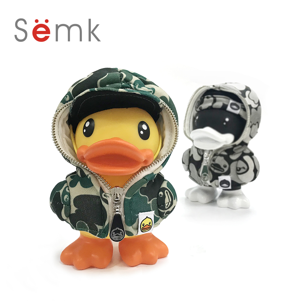 16cm duck action figure duck doll pvc vinyl money box cute for Cute home accessories