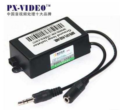Dispositif Anti-brouillage Audio de filtre de bruit de filtre Audio actuel de l'isolateur 3.5
