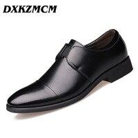 DXKZMCM 남성 드레스 신발, 비즈니스 브랜드