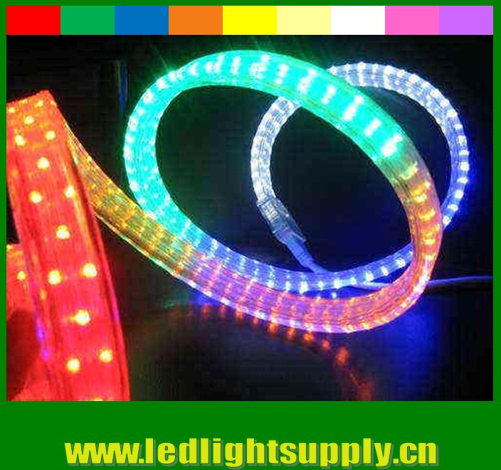 4 wire flat 11x20mm 108ledsm 50m164 rby or rgb led neon rope commodity4 wire flat aloadofball Choice Image