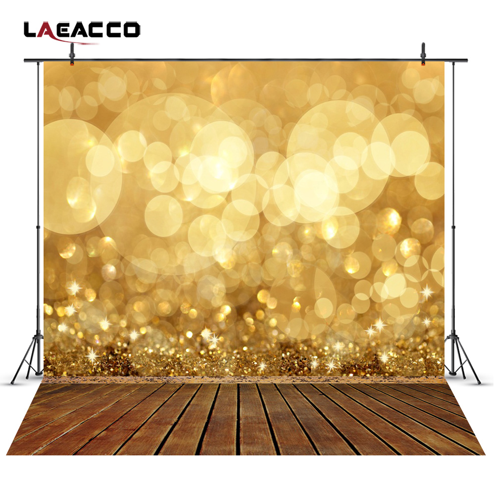 Laeacco Glittering Light Bokeh Wooden Floor Scene Photography Backgrounds Vinyl Custom Photographic Backdrops For Photo Studio laeacco grunge old wood planks wooden texture baby photography backgrounds vinyl custom photographic backdrops for photo studio