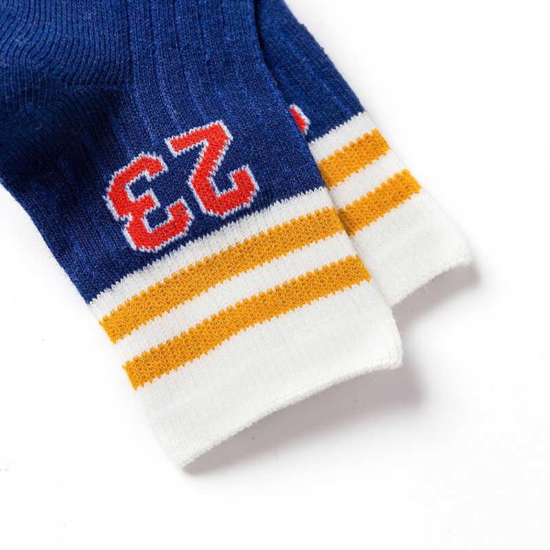 1 par de calcetines de algodón suave para bebés, calcetines para niñas, calcetines lindos para niños de carácter rico de algodón para ropa para bebé (niño o niña) Nuevo
