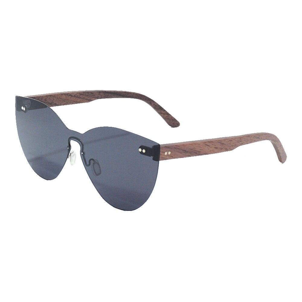 Image 4 - LONSY Fashion Sexy Cat Eye Sunglasses Women Polarized Luxury Brand Design Sun Glasses Original Wood Oculos de sol masculinoWomens Sunglasses   -