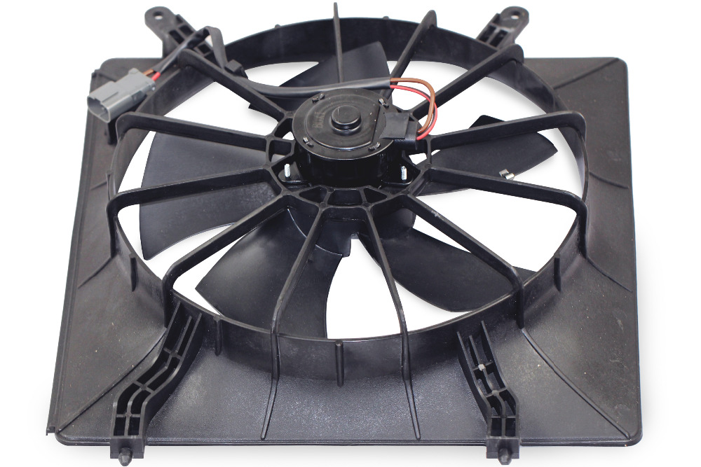 BOXI Left/Driver Side Radiator Cooling Fan Assembly For Honda CR-V / Honda Element (Number Of Blades:5) 19030-PNA-003BOXI Left/Driver Side Radiator Cooling Fan Assembly For Honda CR-V / Honda Element (Number Of Blades:5) 19030-PNA-003