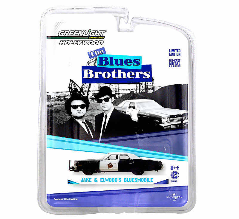 GL 1:64 BLUES BROTHERS 1974 Dodge Monaco alloy model Car Diecast Metal Toys Birthday Gift For Kids Boy