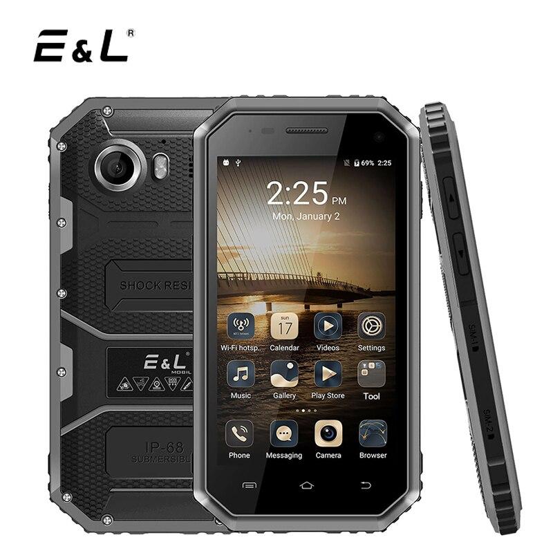 E L W6 4 5 Inch Smartphone Android 6 0 MTK6735 Quad Core 1GB RAM 8GB