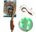 45 см Моана Мауи оружие косплей модель Крюк нож фигурку игрушки может сделать свет и музыка Oyuncak для детей партия декор питания