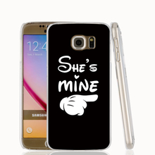 19365 she is mine boy cell phone case cover for Samsung Galaxy S7 edge PLUS S6 S5 S4 S3 MINI