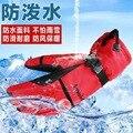 2016 Nueva Llegada de los hombres Calientes del Esquí de la Nieve Snowboard Guantes de Invierno Guantes Calientes Diseños 3 colores Liberan El Envío