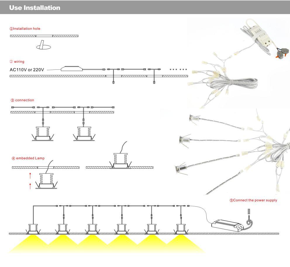 Тегін жүк тасымалдау 6pcs / lot dimmable 4w mini - LED Жарықтандыру - фото 5
