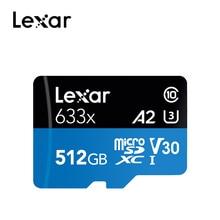 Lexar מיקרו sd דיסק און קי 95 mb/s 512gb מיקרו sd כרטיס sdxc/sdhc זיכרון פלאש כרטיס מיקרו sd עבור נייד טלפון