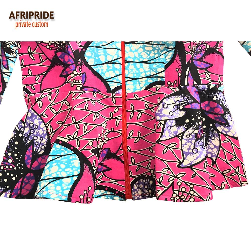 Afrikansk traditionell 2 styck kjol set för kvinnor AFRIPRIDE - Nationella kläder - Foto 4