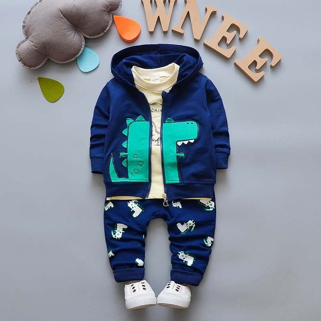 081cf0d85 BibiCola baby Boys Clothing Sets Tracksuit Boys Clothes Suits Cartoon Kids  Boys Hoodie Jacket+Tshirt