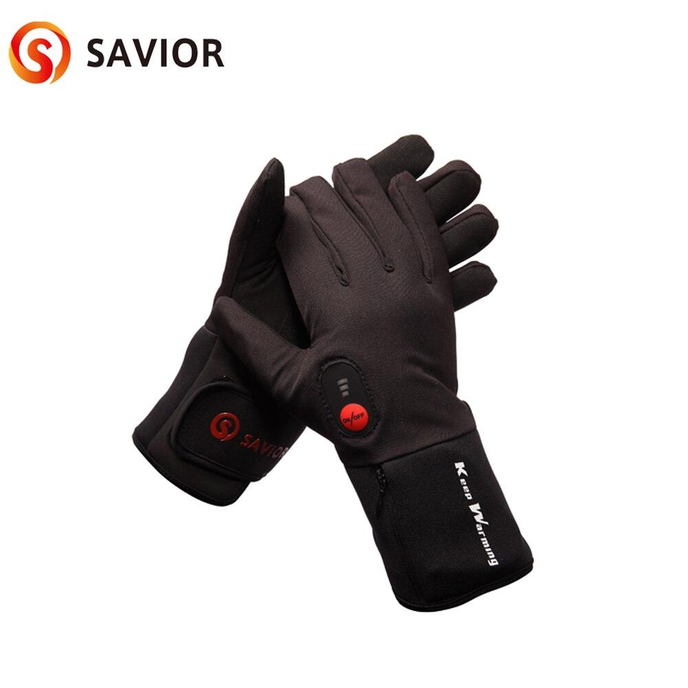 Перчатки для велоспорта Спаситель 7,4 В, зимние перчатки для велоспорта с подогревом батареи, для занятий спортом на открытом воздухе, 3 6 часо