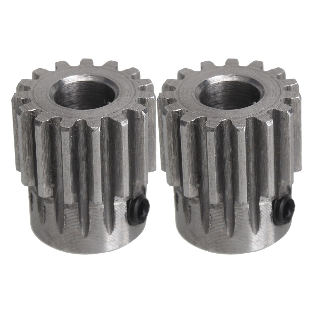 PBLOOT 2pcs Module 1 15 Teeth 4/5/6/6.35/7/8mm Hole Diameter Motor Metal Steel Gear Wheel feelztoys cogilia анальная цепочка