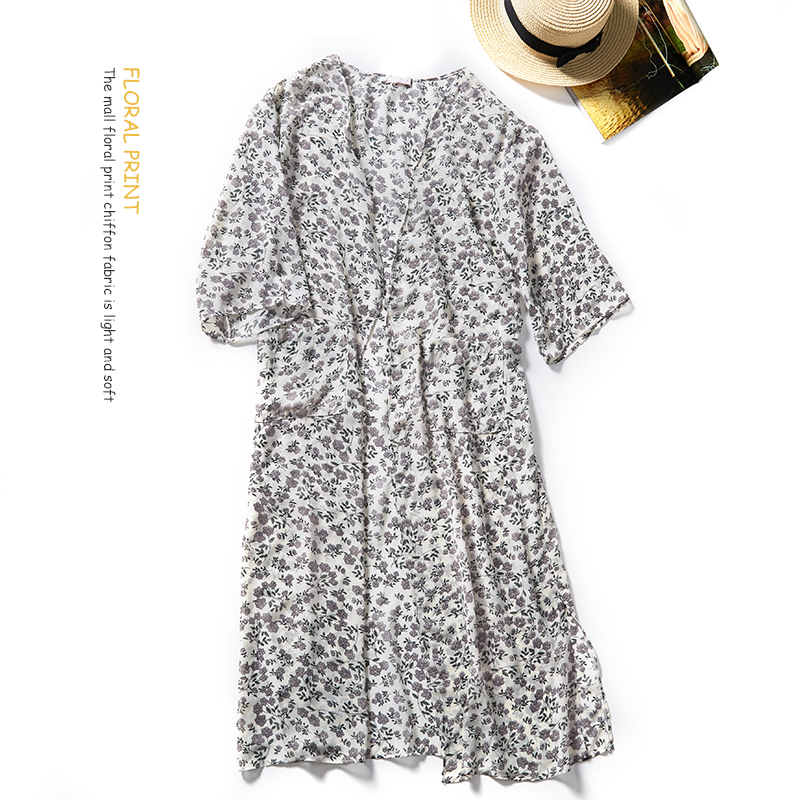Blusas Femininas 2018 Women Boho Kimono Cardigan Blouses Vintage Floral Print Batwing Sleeve Loose Spring Summer Shirts