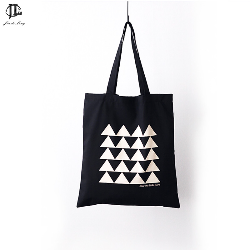 New British Style Fashion Women Girls Street Shopping Bag Female Beach Simply Design Purse Canvas Handbag Shoulder Tote