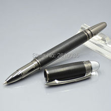 AAA quality starwaker black metal gray clip mb brand roller ball pen executive office supplies writing smooth monte gift pens