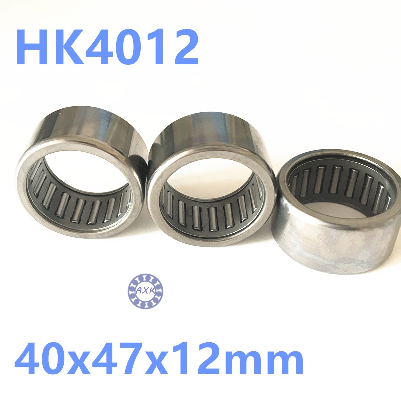 HK4012 Needle Roller Bearing 40mmx47mmx12mm TLA4012Z RHNA404712 for 40mm shaft 40x47x12mm 0 25mm 540 needle skin maintenance painless micro needle therapy roller black red