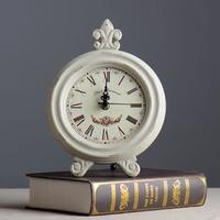 Zakka saat Ev Mobilya bakkal retro vintage takı el sanatları ahşap saat tablo ev dekorasyon aksesuarları