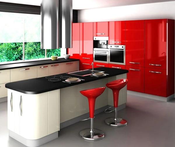 Red And White Kitchen Design Designs Designkitchen Aliexpress