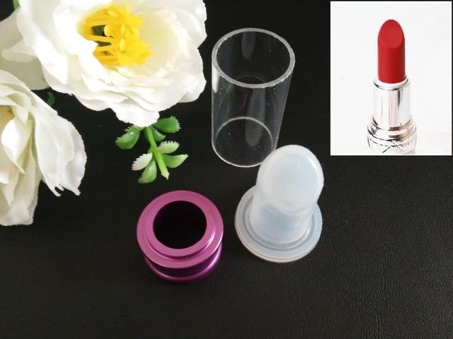 Bullet Shape DIY Lipstick Silicone Mold 12.1mm Easy Make Lipstick ...
