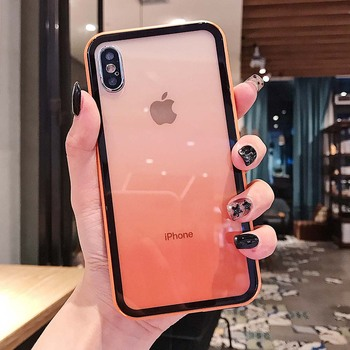 iPhone Xs Colorful Shockproof Case