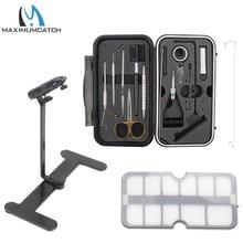Maximumcatch набор инструментов для завязывания мухи, набор рыболовных снастей для путешествий