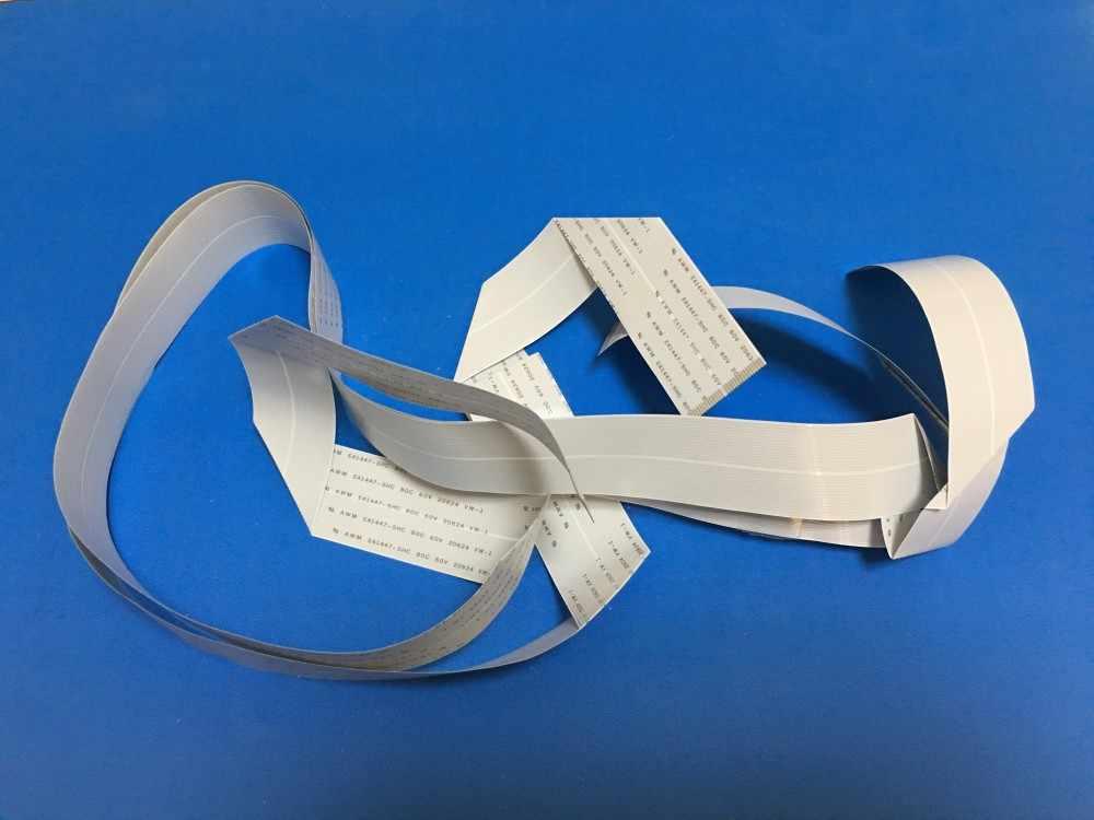 31 pin Kabel Data Print Head untuk Epson Stylus Pro 4800 C 4880 4400 4450 F187000 DX5 F186000 Printhead Data kabel