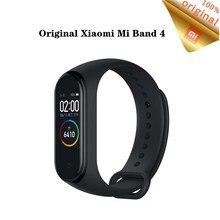"""Original Xiaomi Mi bande 4 Bracelet intelligent 0.95 """"couleur écran Bluetooth 5.0 135mAh fréquence cardiaque Fitness étanche bande 4 Bracelet"""