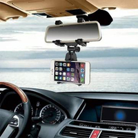 Only One Audio Universal Car Rear View Mirror Bracket Mount Holder For 4 6 3 Inch