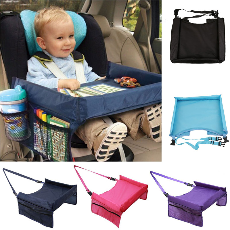 High Quality Waterproof Table Car Seat Tray Storage Kids Seat Infant Stroller Holder For Children Kid Baby Rattles Booster Seats