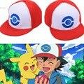 Novo Monstro de Bolso Pokemon Jogo de Beisebol Ajustável Cap Chapéu Cosplay